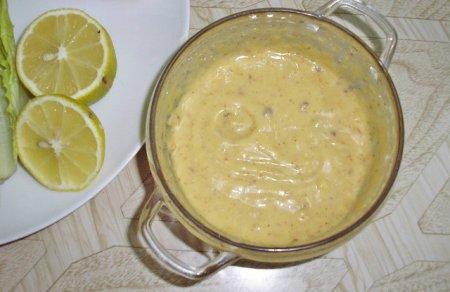 как сделать соус для салата цезарь рецепт