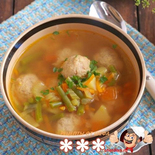 Рыбный суп с кускусом